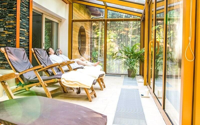 K dispozici je relaxační místnost