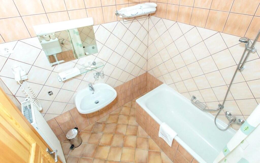 I koupelna je krásná