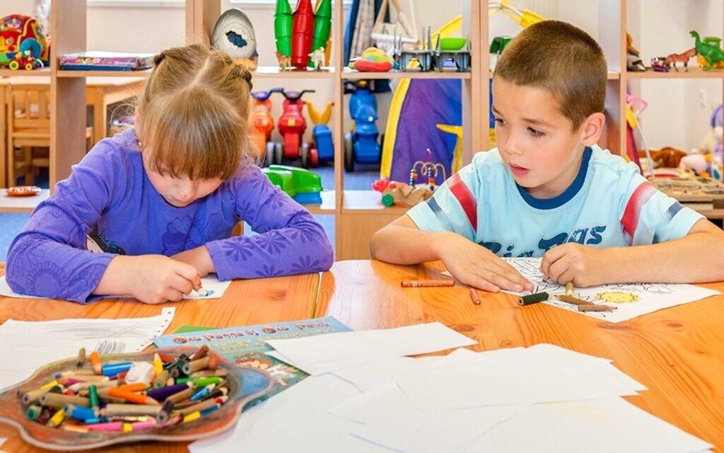 Pro děti je připravený program v dětském koutku