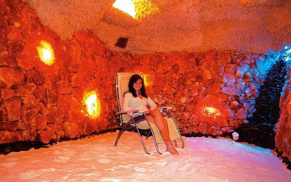 Nabrat nové síly můžete třeba v solné jeskyni