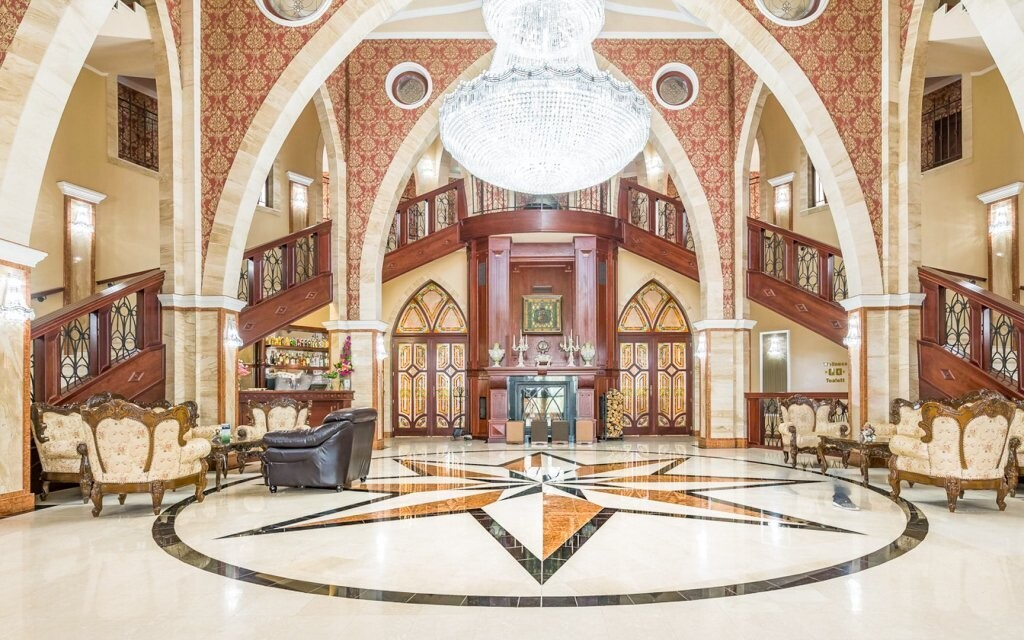 Veľkolepé interiéry hotela vás nadchnú