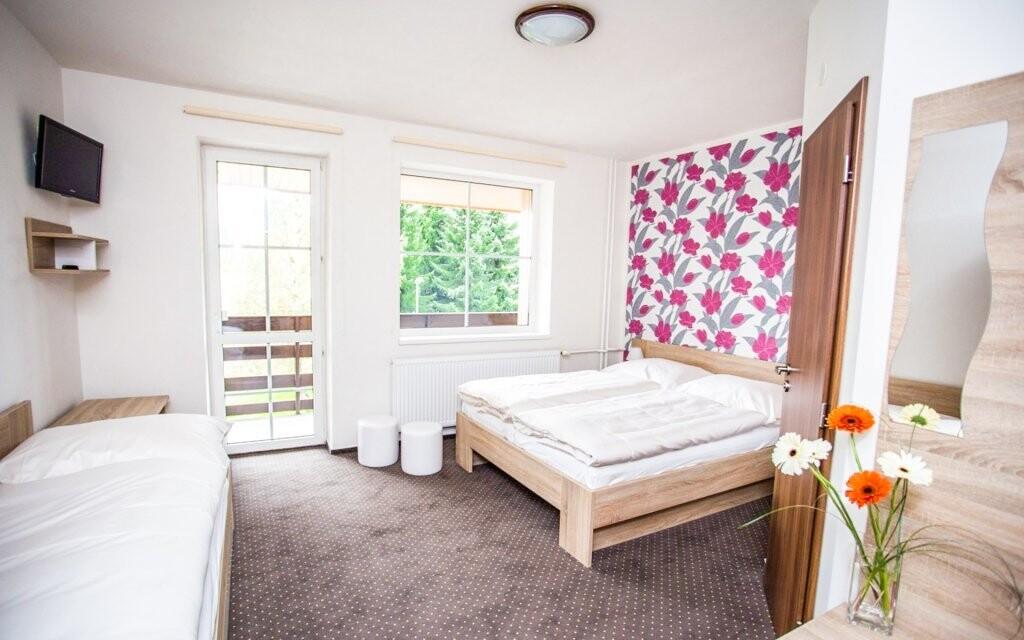 Izby sú nové a moderné