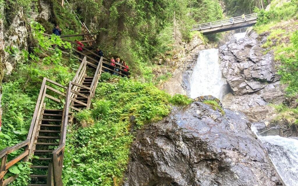 Za zmienku stoja i najväčšie vodopády v Štajersku
