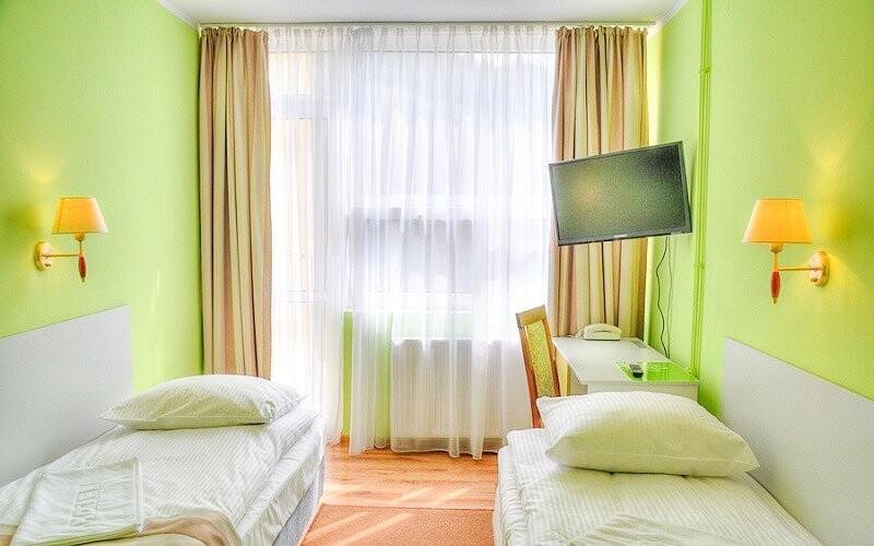 Těšte se na pohodlné pokoje