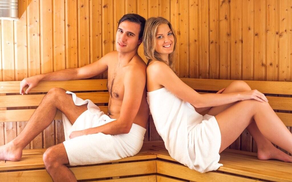Součástí wellness je i sauna