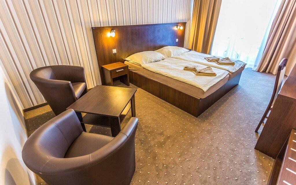 Hotel disponuje novými moderními pokoji