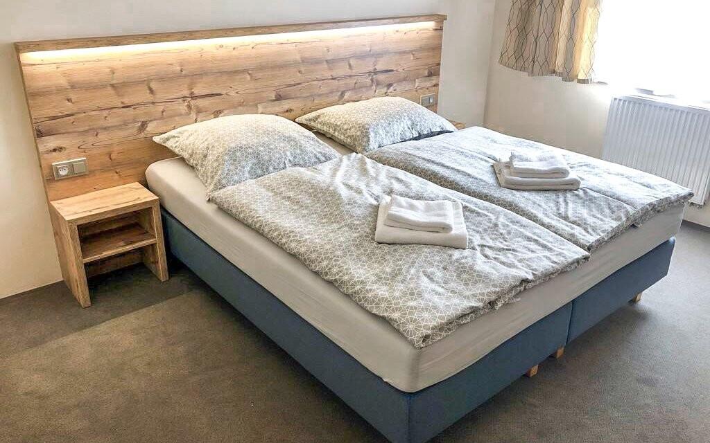 Pokoje jsou ideální pro dva