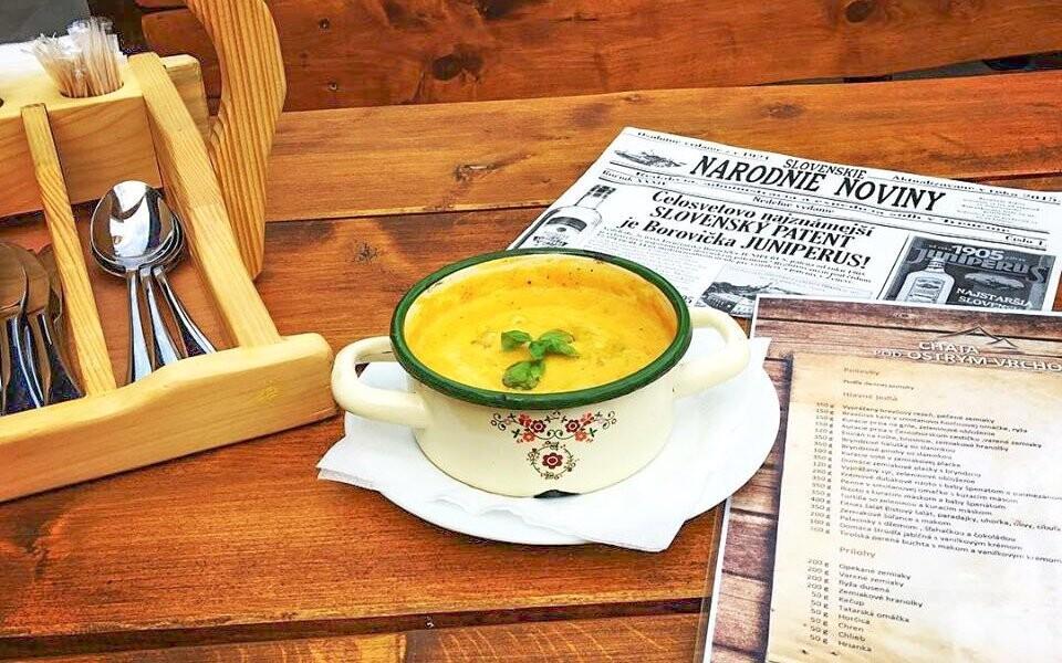 Restaurace nabízí chutnou slovenskou kuchyni