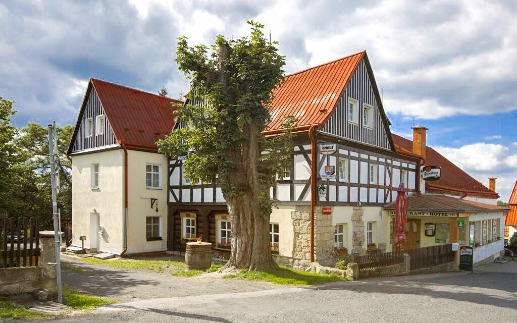 Hotel pochází z roku 1782
