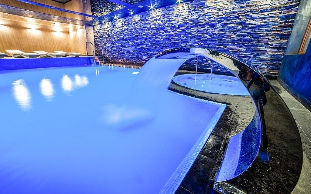 Luxusní hotelové wellness
