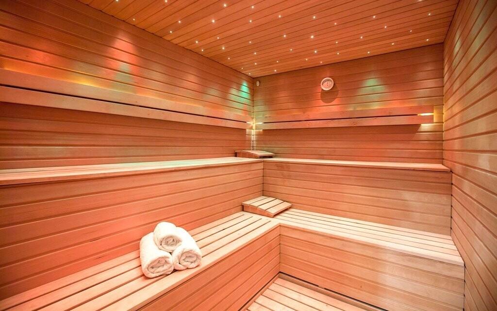 Luxusné hotelové wellness