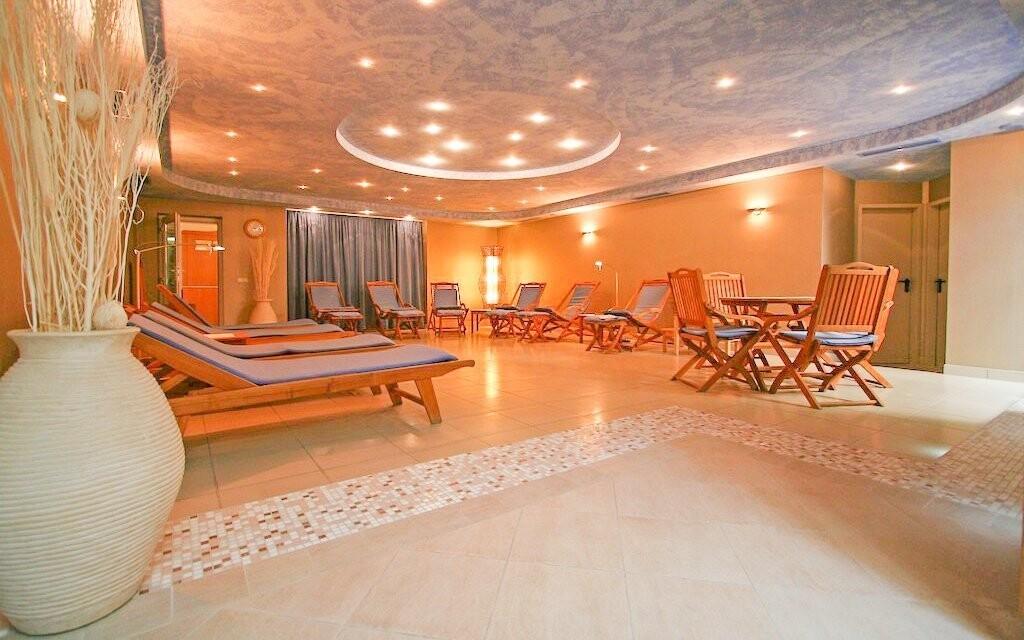 Wellness hotelu je uzpůsobené pro skvělý odpočinek
