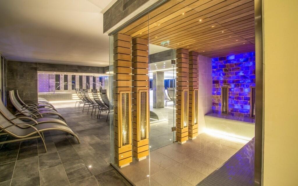 Súčasťou wellness je aj saunový svet