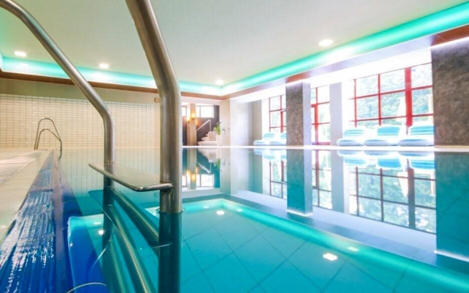 Wellness centrum se nachází přímo v hotelovém areálu