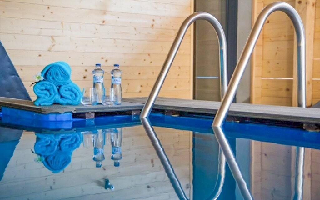 Po sauně se můžete osvěžit