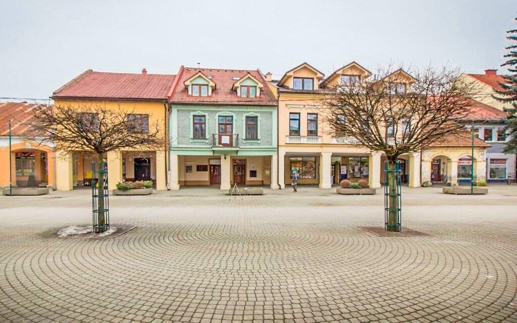 Penzion Elizabetha *** leží v historickém centru