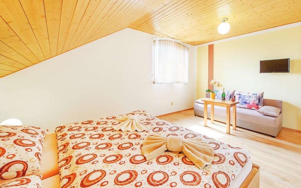 Izby sú moderne vybavené