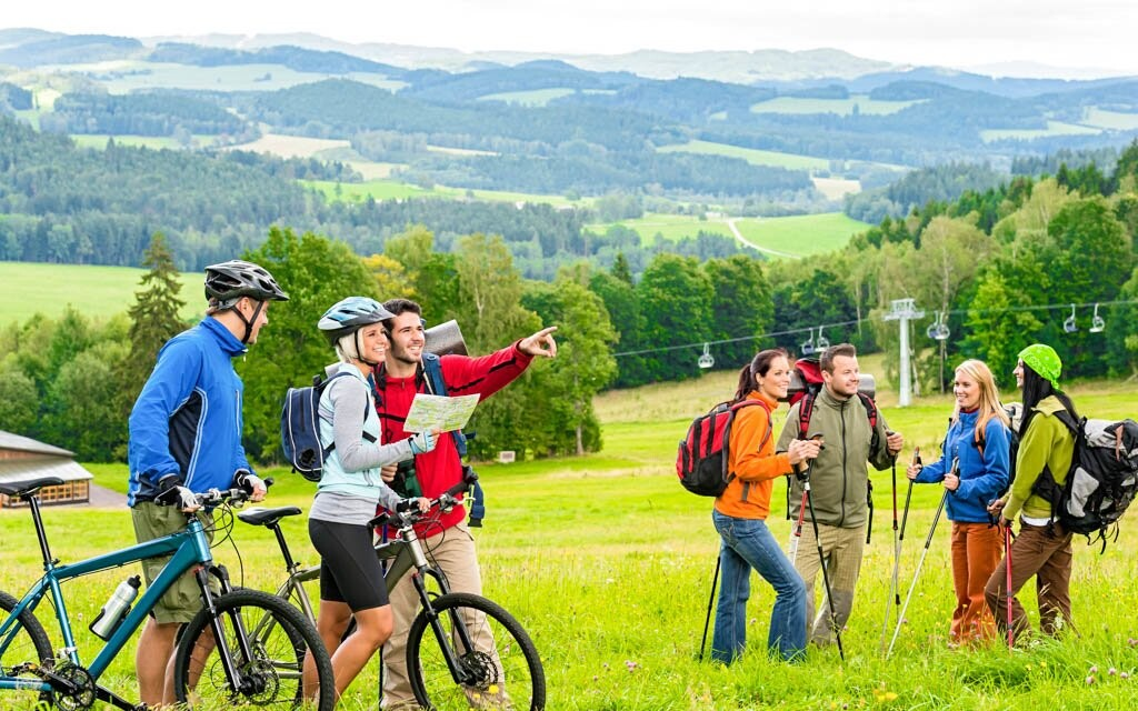 Turistika a cyklistika v Gröbmingu a okolí, Rakousku