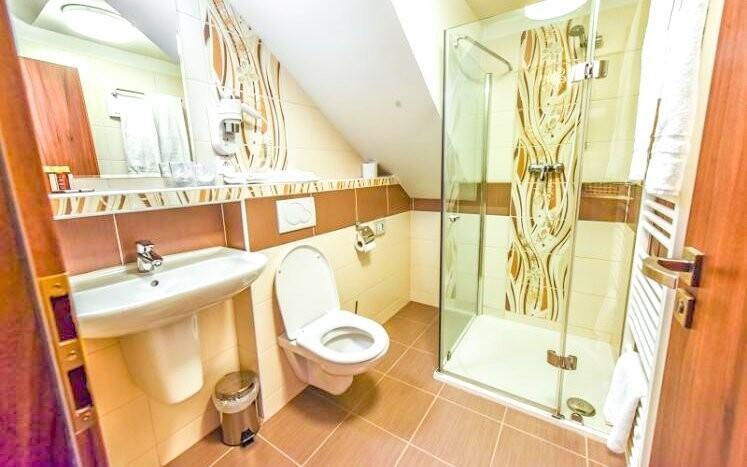 Koupelna je samozřejmostí
