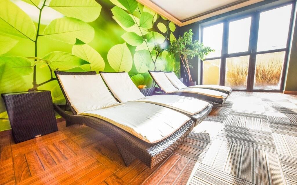 Dopřejte si odpočinek v relaxační místnosti