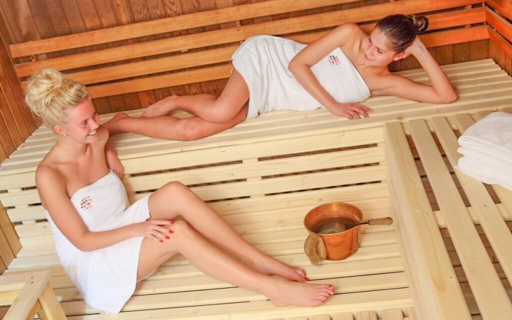 Nechybí ani sauna