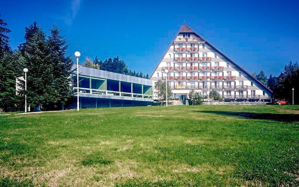 Hotel SKI *** leží v Českomoravské vrchovině