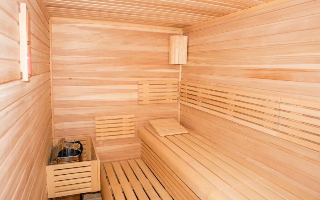 Za příplatek je tu i finská sauna