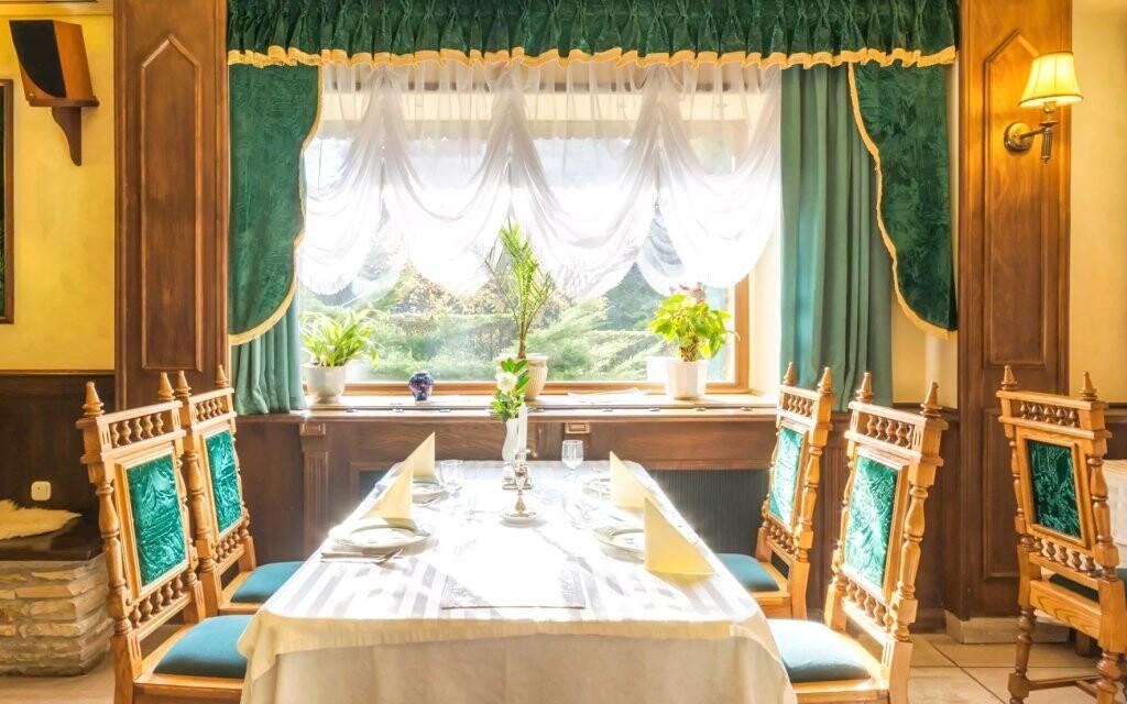 Těšte se na chutnou polopenzi a speciality maďarské kuchyně