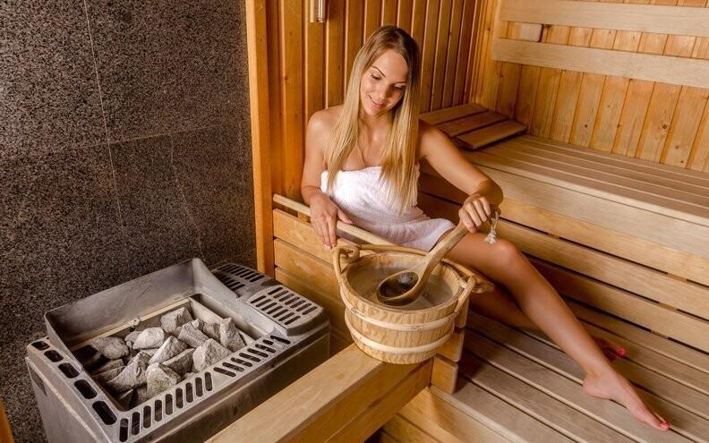 Nechybí ani sauny