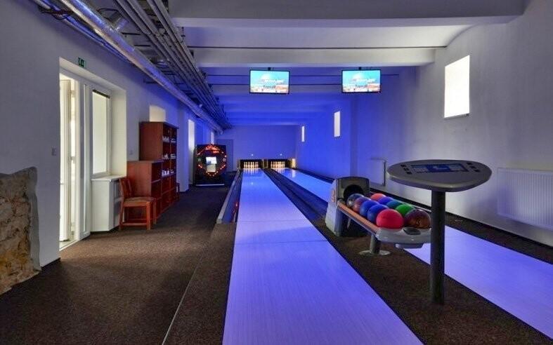 Můžete si zahrát bowling
