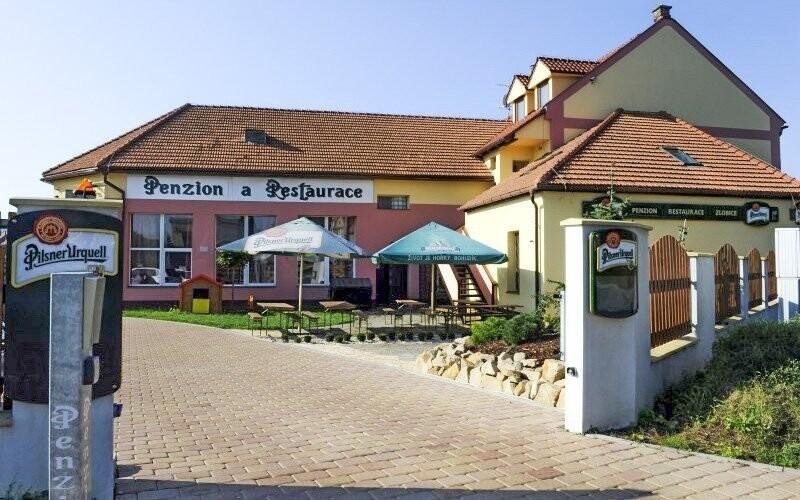 Penzion leží na dobře dostupném místě