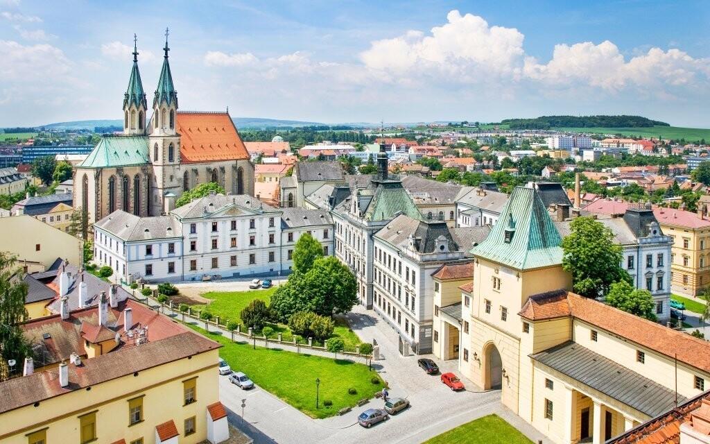 Na výlet si můžete zajet do blízké Kroměříže