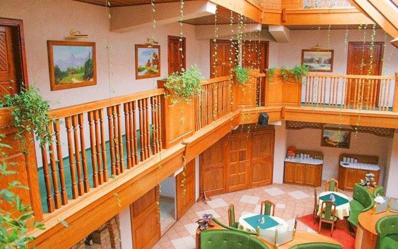 Hotelové interiéry jsou stylové