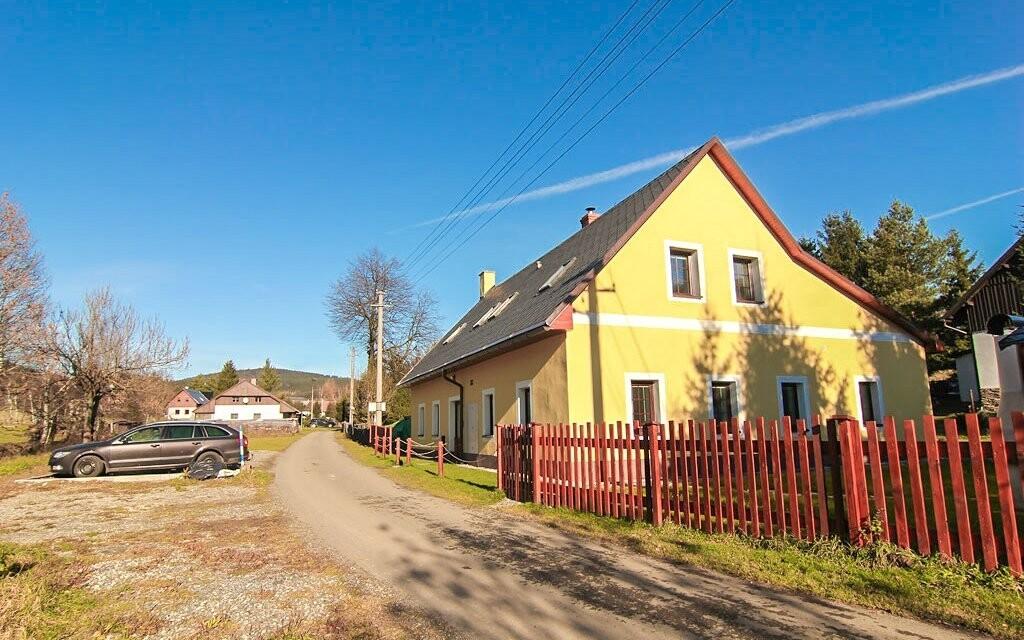 Apartmány Ostružná nabízí pohodlné ubytování v Jeseníkách