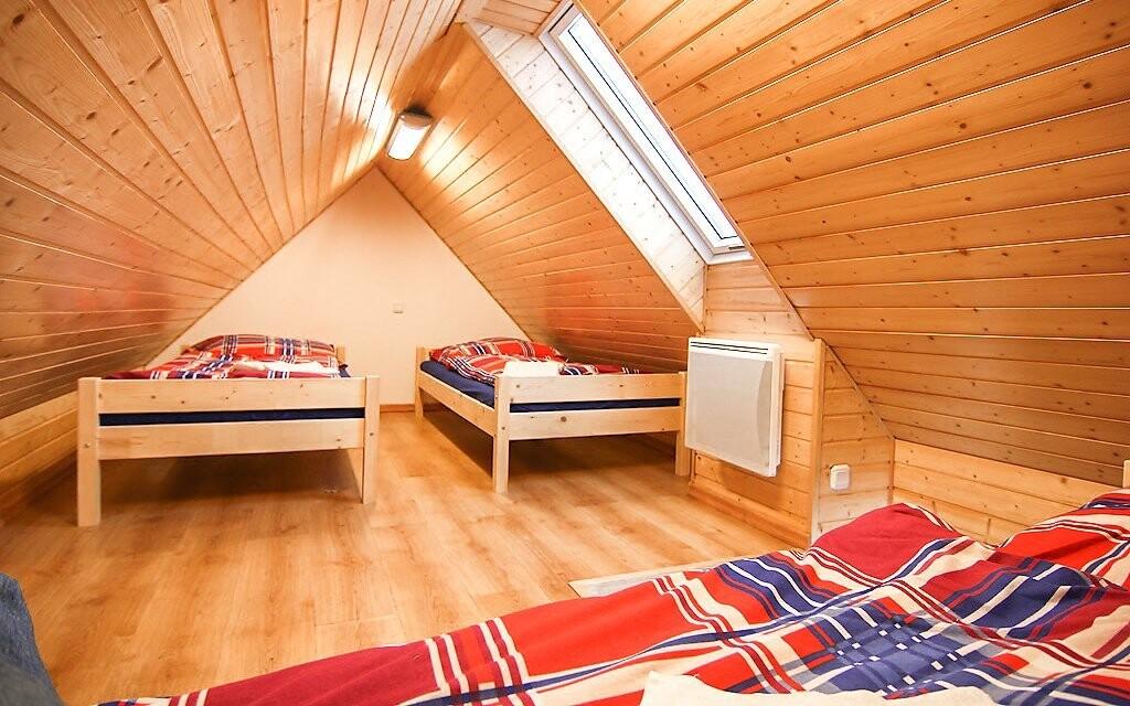 Ubytování je vhodné pro páry i rodiny