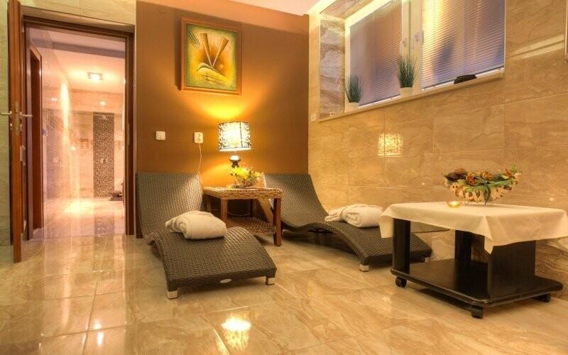 Odpočiňte si v relaxační místnosti