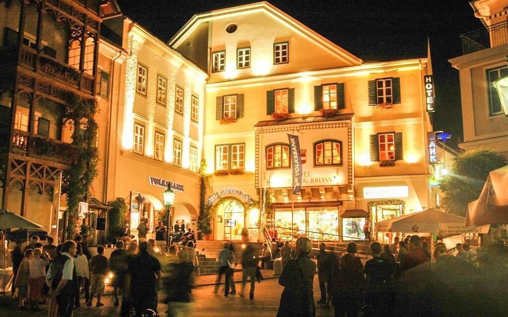 Spa Hotel Erzherzog Johann **** je elegantně zařízený