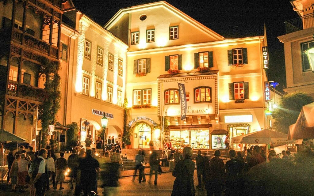 Spa Hotel Erzherzog Johann **** je elegantne zariadený