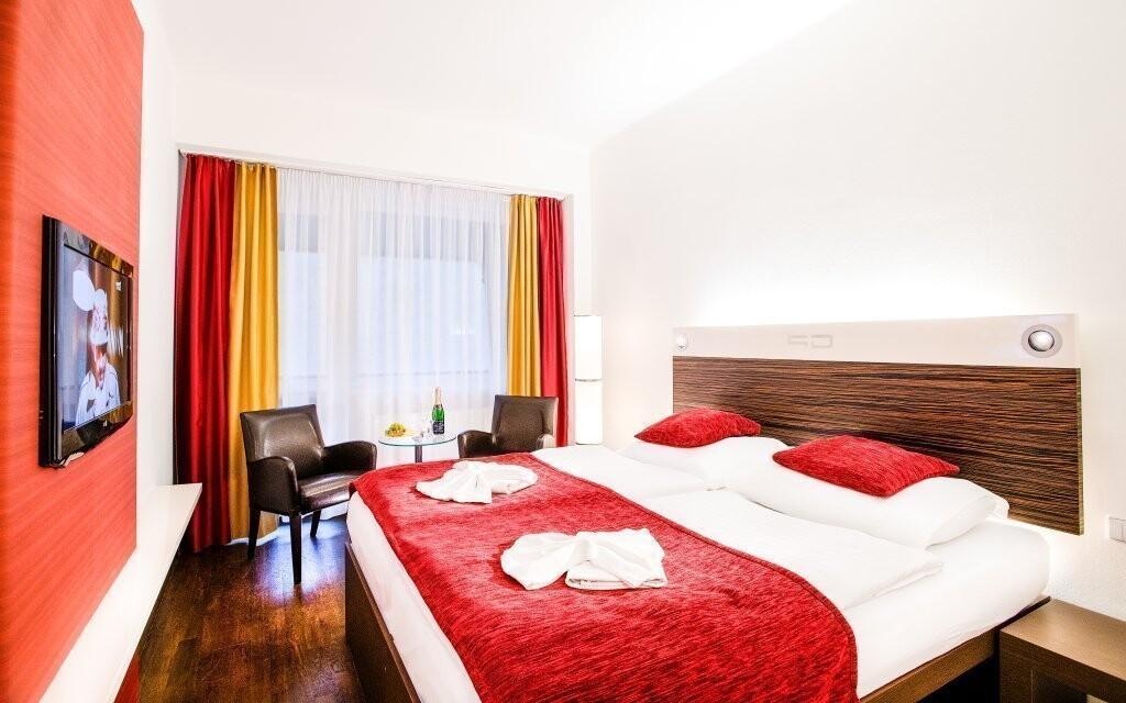 Ubytujte se ve zcela nových pokojích 4* standardu