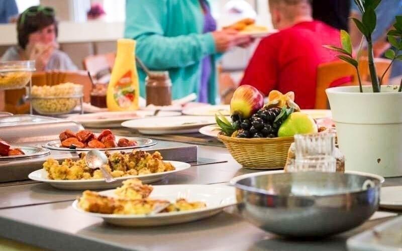 V reštaurácii si môžete vychutnať rôzne dobroty