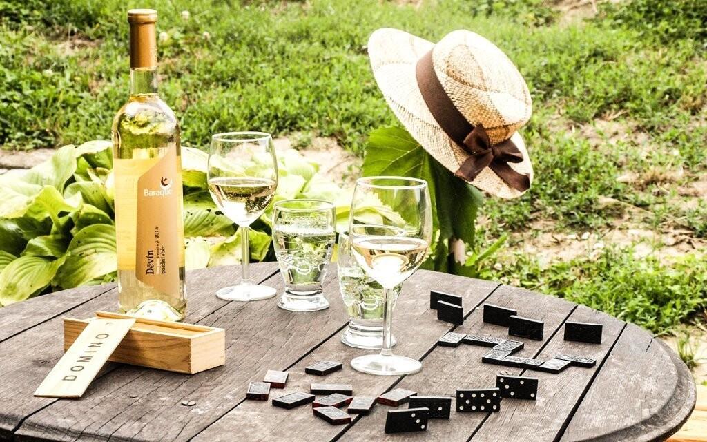 Odpočiňte si v kraji vína
