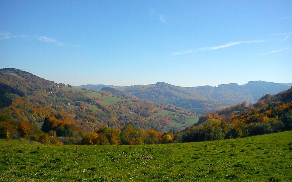 Príroda Biele Karpaty, pešia turistika