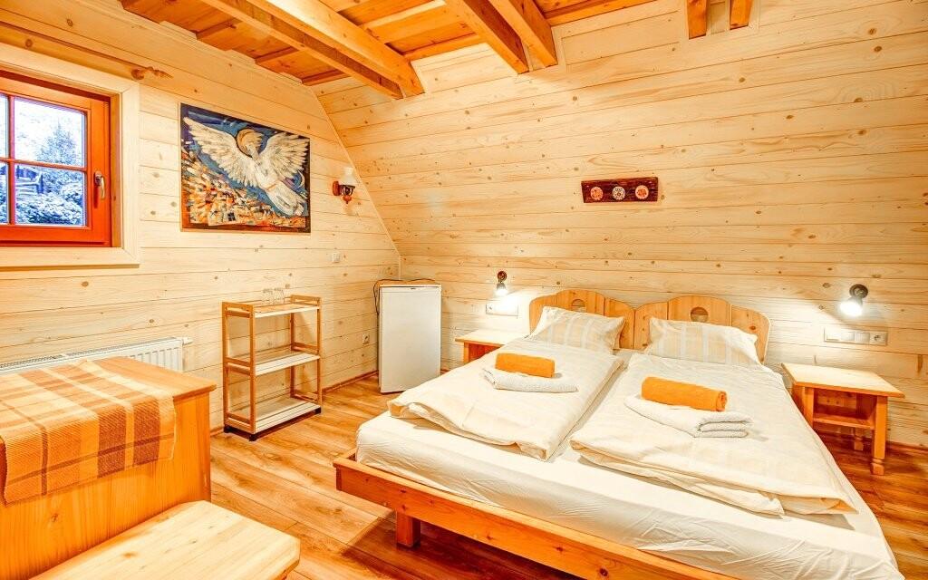 Tradičný vzhľad izieb dopĺňa moderné vybavenie