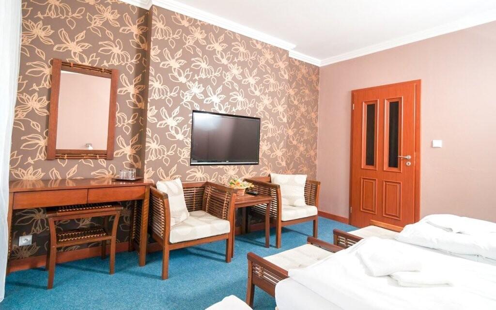 V izbách typu Superior nájdete väčší komfort
