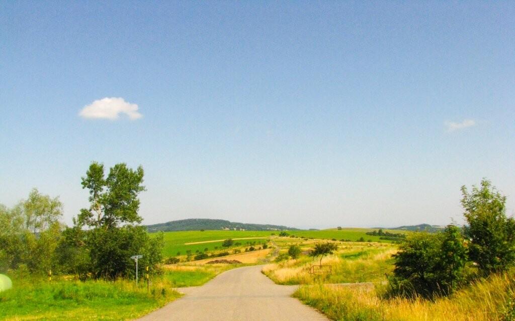 Bílé Karpaty, procházka krajinou, turistika