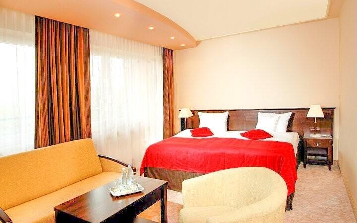Môžete si zvoliť izbu Standard alebo Superior