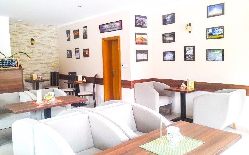 Ve vile Borievka najdete příjemnou kavárnu