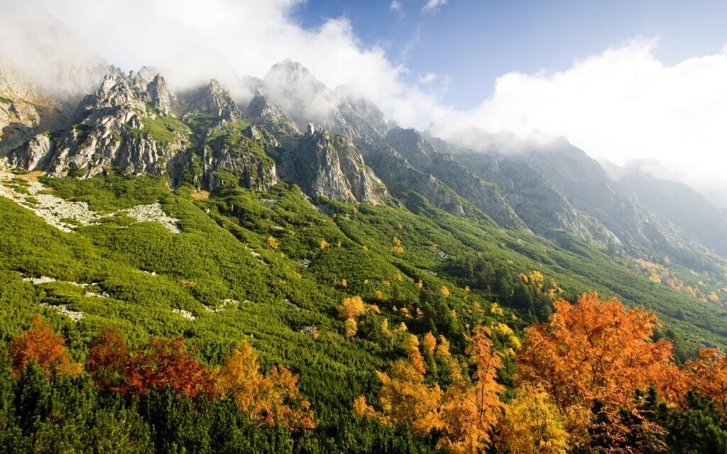 Národní park Vysoké Tatry, Slovensko