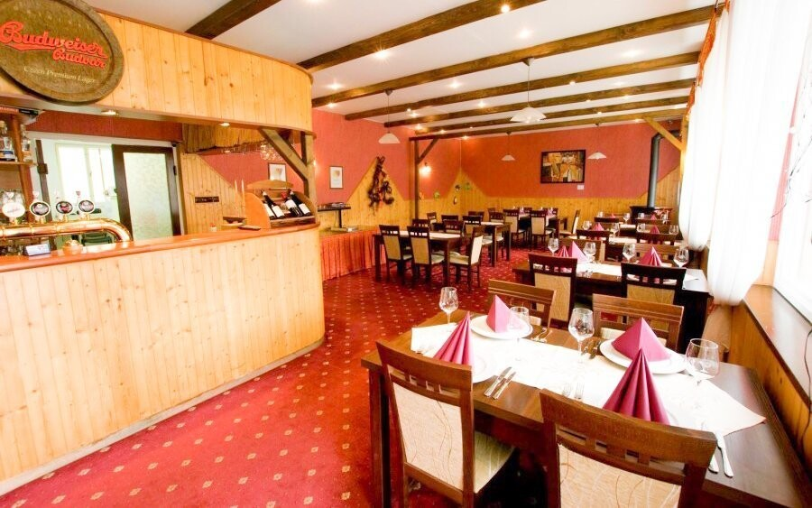 Krásné prostředí restaurace