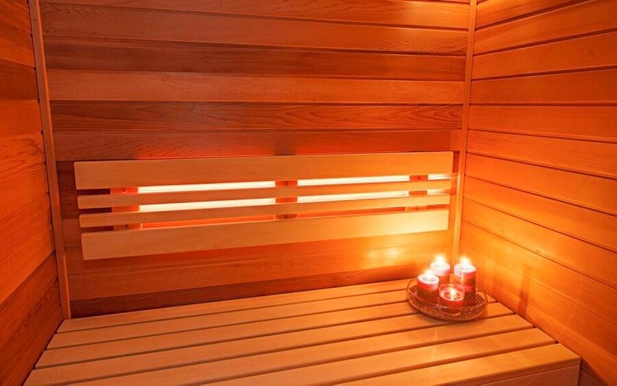Soukromá hotelová sauna